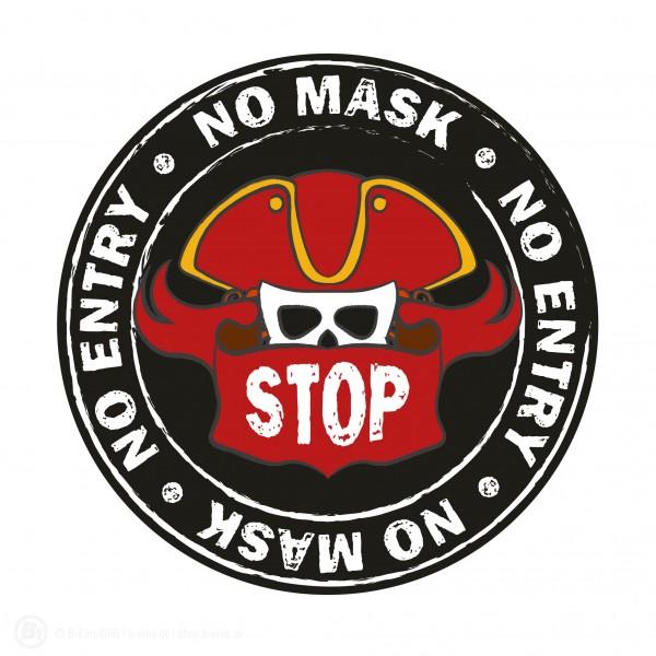 stop corona pirate mask