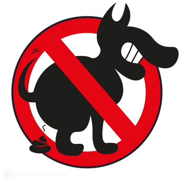 Keine Hundetoilette
